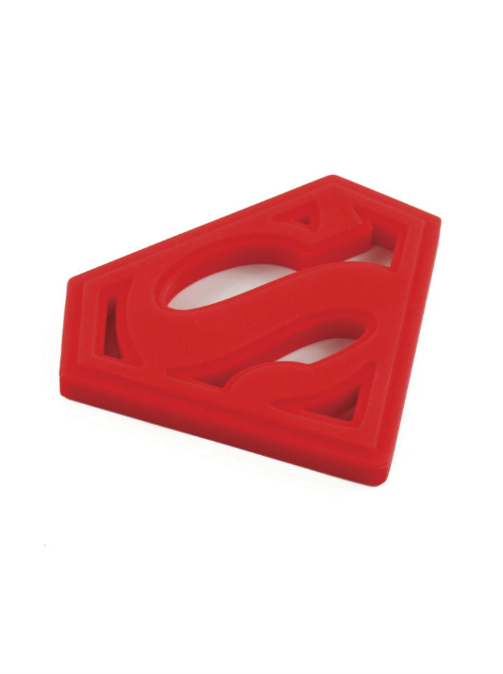 Superman Silicone Teether