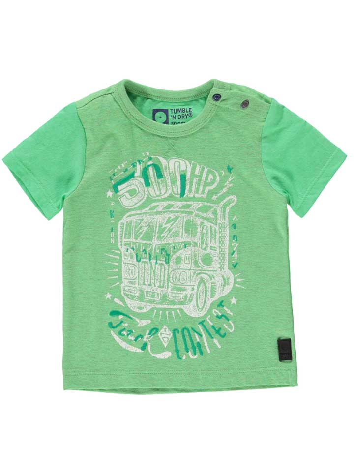 Chase Boys Lo Shorts Sleeve Tee - Green