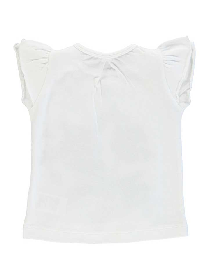 Tumble n Dry Cheri Girls Short Sleeve Tee - Paper White