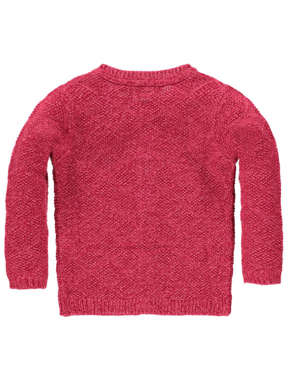 Tumble n Dry Fileine Girls Cardigan-Raspberry