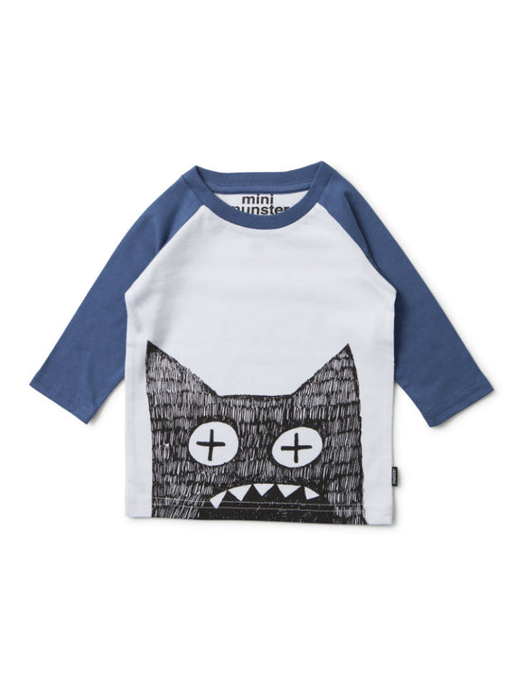 Mini Munster WideEyed Raglan Top
