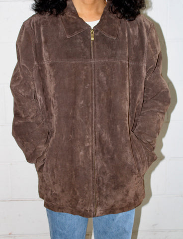 Brownie Suede Jacket (L/XL)