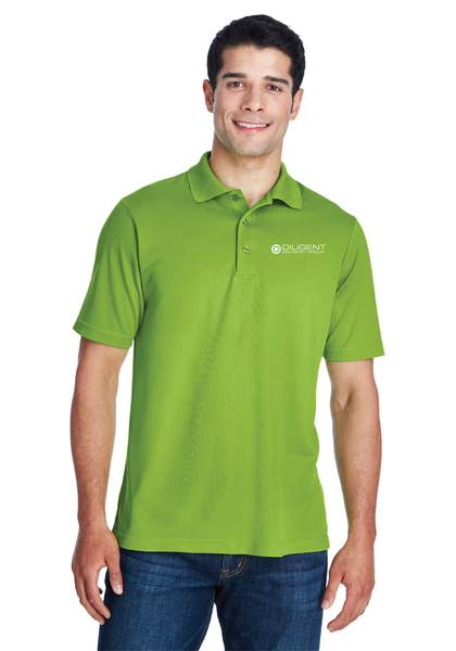 Diligent Advisory Origin Performance Piqué Polo