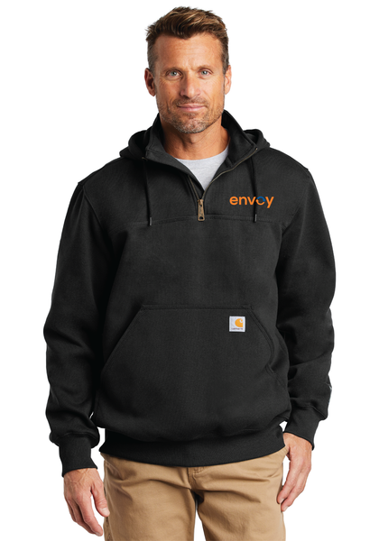 Envoy Paxton Heavyweight Hooded Zip Mock Sweatshirt