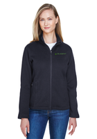 Diligent Advisory Ladies' Bristol Full-Zip Sweater Fleece Jacket