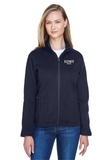 Elevate Ladies' Bristol Full-Zip Sweater Fleece Jacket