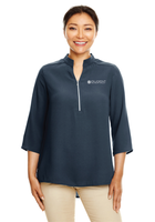 Diligent Advisory Ladies 3/4-Sleeve Crepe Tunic