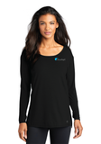 Cloudapt Ladies Luuma Long Sleeve Tunic
