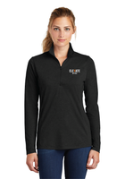 Elevate Ladies Tri-Blend Wicking 1/4-Zip Pullover