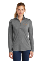 Envoy Ladies Tri-Blend Wicking 1/4-Zip Pullover