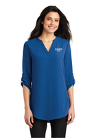 Elevate Ladies 3/4-Sleeve Tunic Blouse
