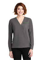 Diligent Advisory Ladies Wrap Blouse