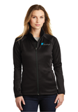 Cloudapt Ladies Canyon Flats Stretch Fleece Jacket