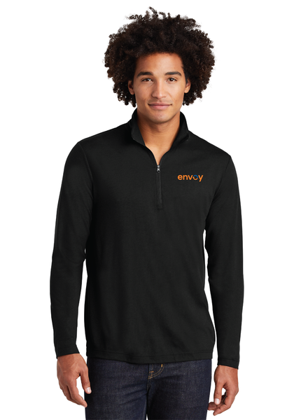 Envoy Tri-Blend Wicking 1/4-Zip Pullover