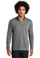 Diligent Advisory Tri-Blend Wicking 1/4-Zip Pullover