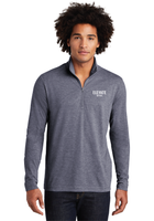 Elevate Tri-Blend Wicking 1/4-Zip Pullover