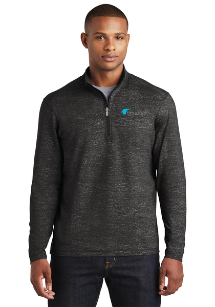 Cloudapt Stretch Reflective Heather 1/2-Zip Pullover