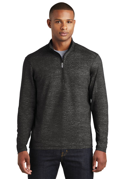 Stretch Reflective Heather 1/2-Zip Pullover