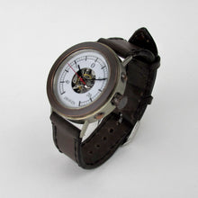 Load image into Gallery viewer, Boiler Watch with Brown Strap - TheExCB