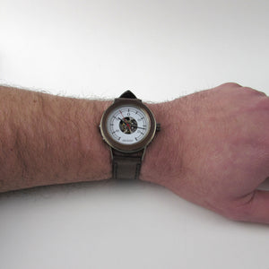 Boiler Watch with Brown Strap - TheExCB