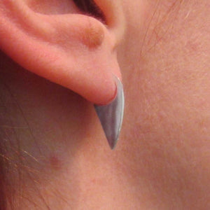 Silver Claw Earrings - TheExCB