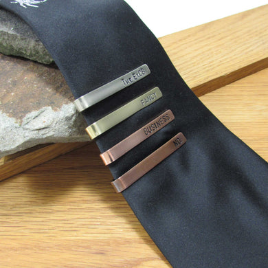 Personalized Tie Bar - TheExCB