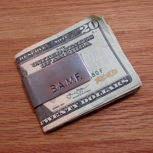 Personalized Money Clips - TheExCB
