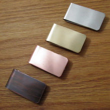 Load image into Gallery viewer, Satin Finish Money Clips - TheExCB