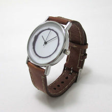 Load image into Gallery viewer, Solar Flare Brown Leather Wrist Watch - TheExCB