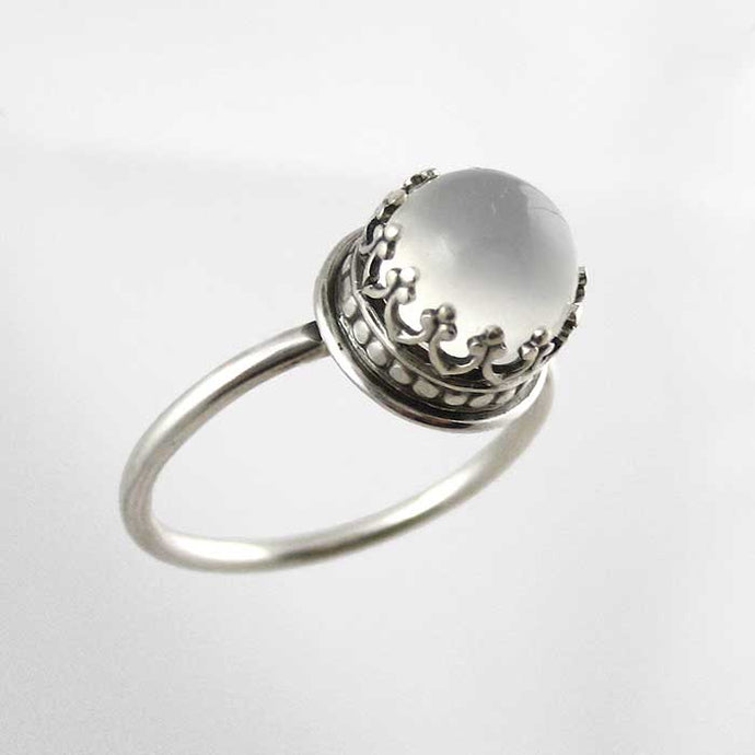 Bishop Moonstone Ring