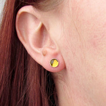 Load image into Gallery viewer, 6mm Citrine Stud Earrings - TheExCB