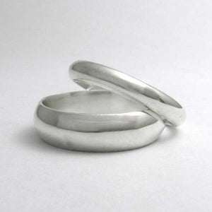 Traditional Half Round Wedding Band - TheExCB