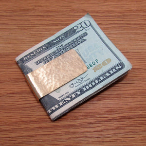 Hammered Money Clips - TheExCB