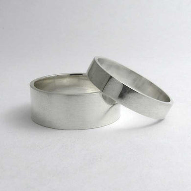 Traditional Flat Wedding Band - TheExCB