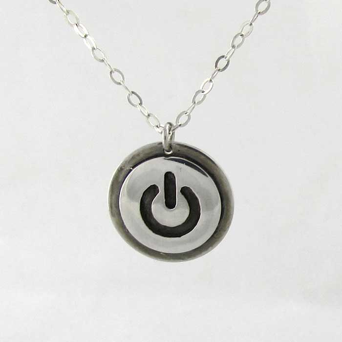 Power Button Pendant - TheExCB