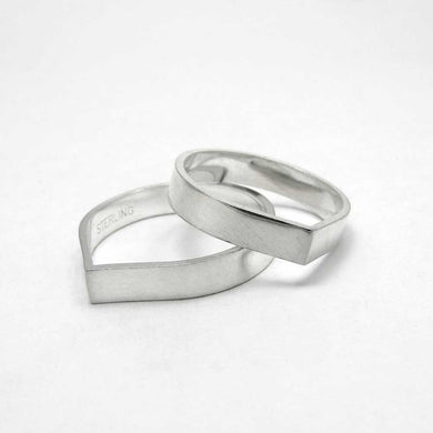 Teardrop Stackable Ring - TheExCB