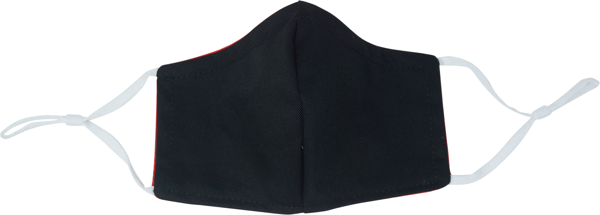 Washable Fabric Children's Face Mask - Black [4-6] and [6-12]