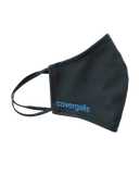 Covergalls Branded, Washable, Lycra Fabric Face Mask [OS]