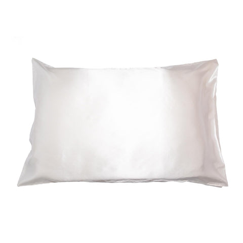 Ivory Cloud Silk Pillowcase