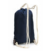 Classic Collection Waxed Canvas & Leather Drawstring Bag
