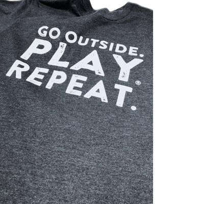 'Go Outside. Play. Repeat.' T-Shirt