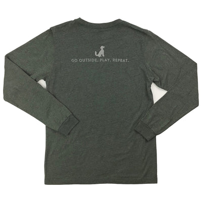 PO Mountain & Wave Logo Long Sleeve T-Shirt