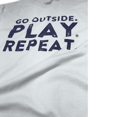 Classic 'Go Outside. Play. Repeat.' T-Shirt