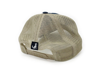 PO Mountain & Wave Logo Mesh Hat