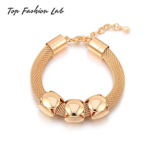 3 CUBE METAL BRACELETS | Top Fashion Lab