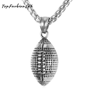 Football pendant necklace - Top Fashion Lab