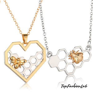 HoneyComb Choker Necklace Top Fashion Lab