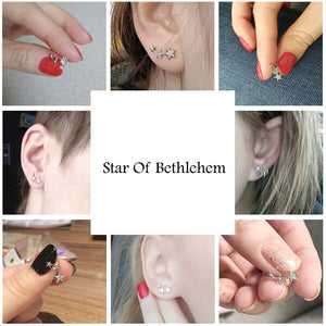 CHRISTMAS STAR OF BETHLEHEM EARRINGS