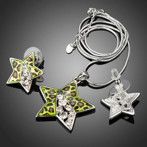 LEOPARD STAR JEWELRY SET