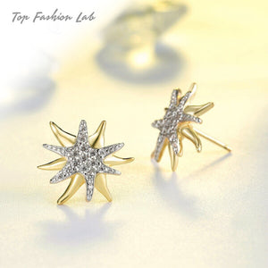 YELLOW STARFISH STUD EARRINGS | Top Fashion Lab